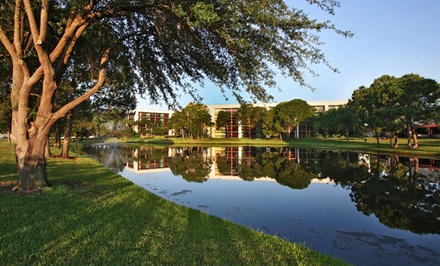 groupon daily deal - Stay at Rosen Inn Lake Buena Vista in Greater Orlando, with Dates into November