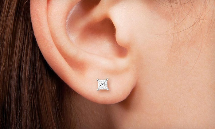 Diamond Jewellery In 14 Karat White Gold In Groupon