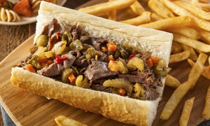 Large Marge's Philly Cheesesteaks: $11 for Two Groupons, Each Good for $10 Worth of Food Large Marge's Philly Cheesesteaks ($20 Value)