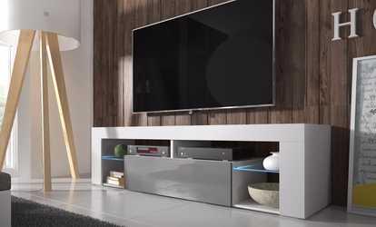 Living room furniture deals coupons groupon for Muebles tv colgados
