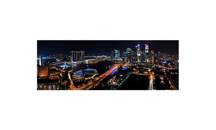 Great Cities of the World Panoramic Night Skyline Prints: Great Cities of the World Panoramic Night Skyline Gallery-Wrapped Prints. Multiple Options. Free Shipping and Returns.