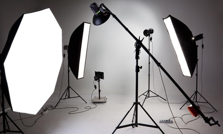 60-Minute Studio Photo Shoot with Retouched Digital Images from Captured Arts Photography L.L.P (70% Off)
