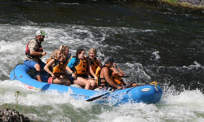 Forward Paddle Rafting Co. - Maupin: Deschutes River Half-Day Rafting Trip for Two, Four, or Eight from Forward Paddle Rafting Co. (Up to 45% Off)