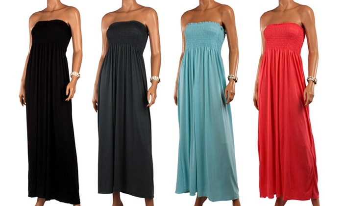 Women\'s Plus-Size Maxi Dress | Groupon Goods