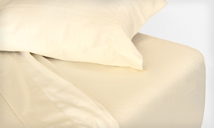 Espalma 325-Thread-Count Organic Sheets: Espalma 325-Thread-Count Organic Cotton Sheets (Up to 66% Off). Five Options Available. Free Shipping and Free Returns.