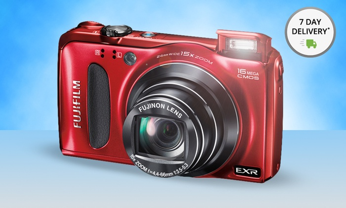 Fujifilm 16MP 15X Zoom Digital Camera (F660EXR): Fujifilm Finepix F660EXR Camera and Optional Memory Card. Multiple Kits from $114.99–$149.99. Free Shipping and Returns.