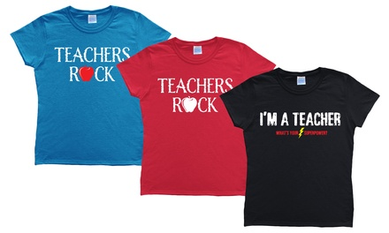 Women's Teacher Tees