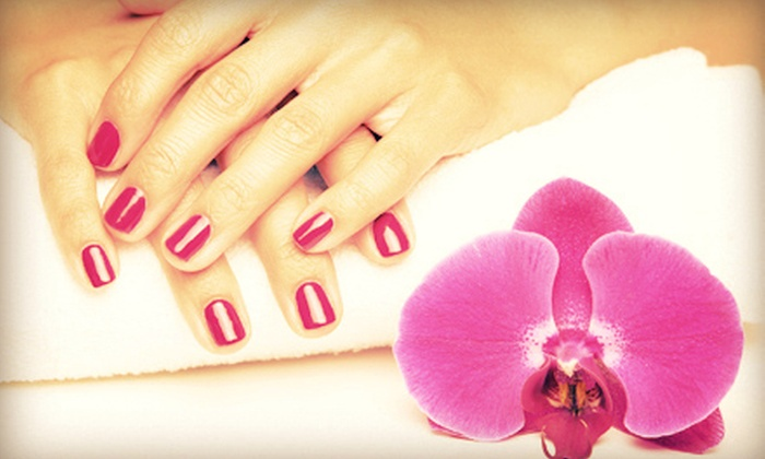 Kimberly Hyatt - Douglas Byrd: One or Two Spa Manicures and Basic Pedicures from Kimberly Hyatt (Up to 57% Off)