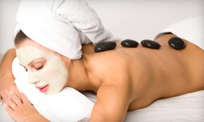 Tres Chic Salon and Spa - Homewood: Hot-Stone Massage, Facial, and Manicure for One or Two at Tres Chic Salon and Spa (Up to 62% Off)