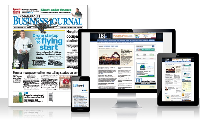 Indianapolis Business Journal: One-Year Print, Digital or Print and Digital Subscription to Indianapolis Business Journal (Up to 52% Off)
