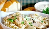 Café Vincenzo - Margate Gardens: Italian Food at Café Vincenzo in Margate (Up to 53% Off). Two Options Available.