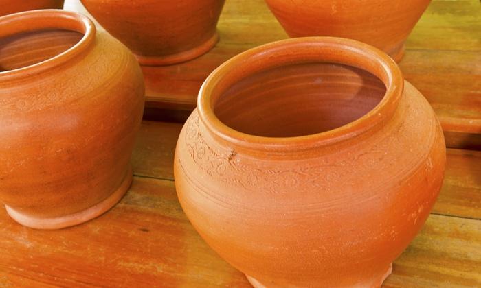 Rokuro Pottery - Allston: 90-Minute Wheel-Throwing Pottery Class at Rokuro Pottery (50% Off)