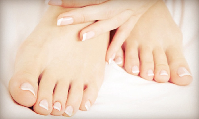 Smooth Body Spa and Salon - Sayville: Mani-Pedis at Smooth Body Spa and Salon (Up to 60% Off). Three Options Available.