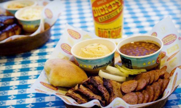 Dickey's Barbecue Pit - Southridge: Barbecue Meal for Two or Four at Dickey's Barbecue Pit (Up to 53% Off)