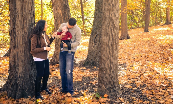 Alan Muina Photography - Westchester County: 60-Minute Outdoor Photo Shoot with Retouched Digital Images from October Fall Photography (60% Off)