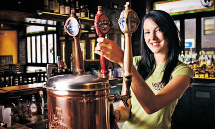 Shamrock City Pub - Downtown: $15 for $30 Worth of Drinks on Sunday, Monday, Tuesday, or Thursday at Shamrock City Pub