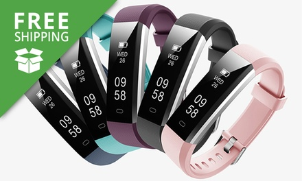 Free Shipping: From $29 for an ID115U Touch Screen Fitness Tracker with Optional Accessories