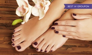 Lisa Nails & Spa: Up to 49% Off Regular or Gel Manicures and Regular Pedicures at Lisa Nails & Spa