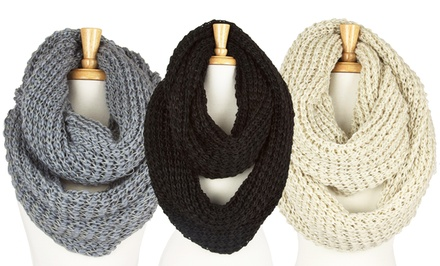 Super Chunk Knit Loop Scarf