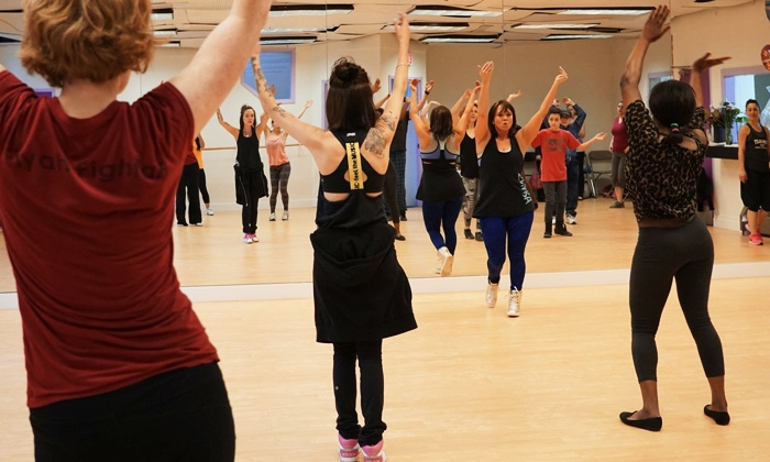 Free Spirit Dance - Tuxedo Park: Up to 64% Off Barre Fitness, Zumba Classes and More at Free Spirit Dance
