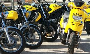 Autoescuela Gala: Curso para obtener el carné de moto A1 o A2 con 5 o 7 prácticas desde 49 €. Tienes más de 40 centros a elegir