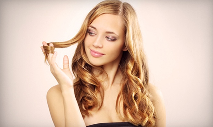 Tease Hair Studios - Downtown: Haircut and Color with Blow-Dry or Highlights at Tease Hair Studios in Suffern (64% Off)