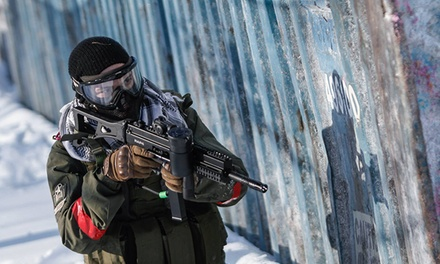 $26 for a 1-Day Paintballing Package for One at Paintball Mirabel ($68.97 Value)