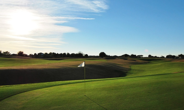 Black Bear Golf Club - Village At Black Bear: $34 for an All-Day Golf Package, Cart Rental, and a Drink at Black Bear Golf Club ($67 Value)