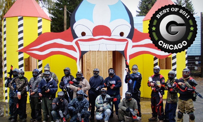 Paintball Explosion - East Dundee: $30 for a Paintball Outing with Equipment and Paintballs for Two at Paintball Explosion in East Dundee ($91 Value)