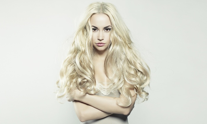 Isle Gallagher at Hair Antics - Bradenton: Full Highlights or SoCap Hair Extensions from Isle Gallagher at Hair Antics (Up to 50% Off)