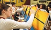 Pinots Palette  - Liberty Township: Two- or Three-Hour Painting Class for All Levels from Pinot's Palette(Up to 49%Off)