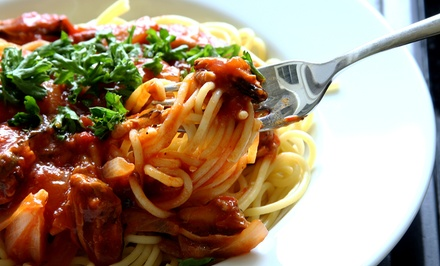 Italian Cuisine at Cafe Mangia (Up to Half Off). Three Options Available.