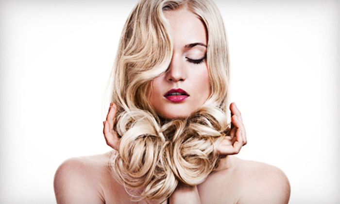 Scruples Salon & Spa - Glenview: Haircut, Conditioning, and Color Packages at Scruples Salon & Spa (Up to 61% Off). Two Options Available.
