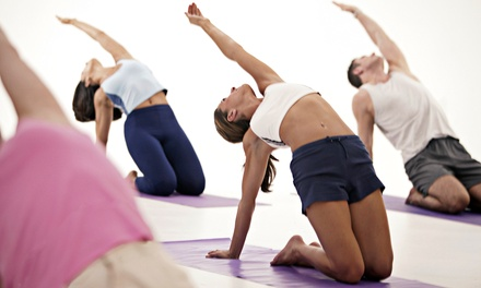 Five Yoga, Zumba and Boot Camp Classes or One 75-Minute Thai Yoga Massage at Mystic Pointe Yoga (Up to 71% Off)