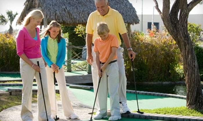 Adventure Landing - Gastonia: Two or Four Rounds of Mini Golf with Batting-Cage Tokens at Adventure Landing (Up to 60% Off)