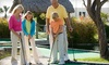 Up to 60% Off Mini Golf and Batting Cages