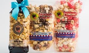 Tastebuds Popcorn at the Lake/MET: $12 for $20 Worth of Gourmet Popcorn in Hundreds of Flavors at Tastebuds Popcorn