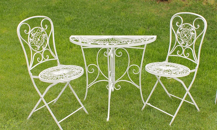 Tavoli e sedie in ferro battuto | Groupon Goods