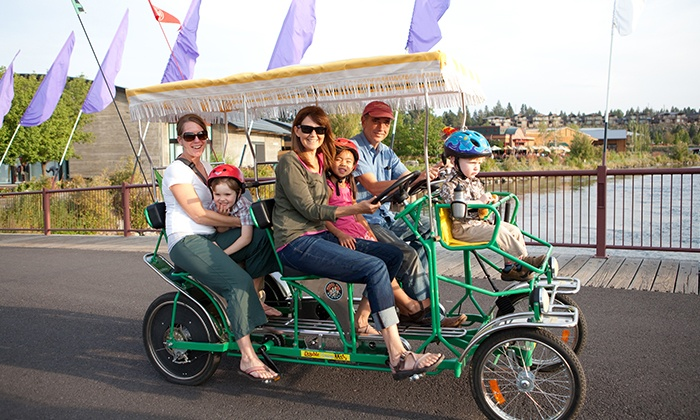 Wheel Fun Rentals - Wheel Fun Rentals - Chicago: Bike or Boat Rentals Plus $8 or $16 Worth of Concessions from Wheel Fun Rentals (53% Off)