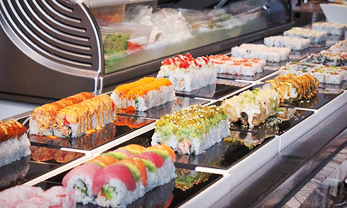 Santo's Modern American Buffet & Sushi - Coconut Creek: $10 for $20 Worth of Lunch & Drinks at Santo's for Two or More