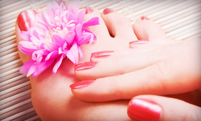 Stephanie at Beauty Loft Salon & Spa - Lewiston Gardens: One or Two Mani-Pedis from Stephanie at Beauty Loft Salon & Spa (Up to 55% Off)