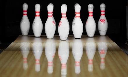 1 oder 2 Std. Bowling inkl. 1 oder 2 1,5-l-Pitcher für bis zu acht Personen im Bowltreff Wulfen (bis zu 54% sparen*)