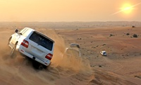Halloween Special Half Day or Overnight Desert Safari for Up to Two with Al Badeyah Eyes Tourism (Up to 61% Off)