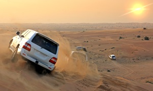 Talent travel & tourism L.L.C: Desert Safari with Barbecue and Transfers for Up to Four with Talent Travel & Tourism (Up to 59% Off)