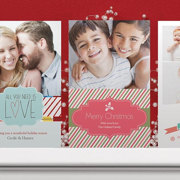 Custom Holiday Cards Groupon Goods