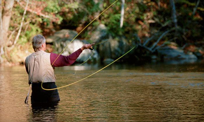 Fly fishing river through atlanta groupon for Fishing in atlanta