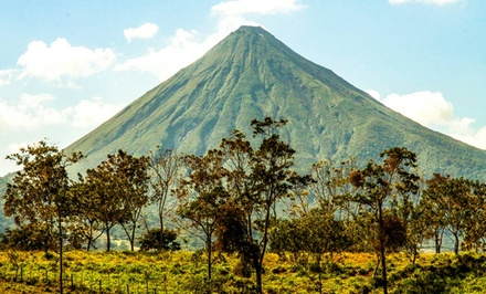 Groupon Deal: 3-, 4-, or 5-Night Stay for Two with Adventure Tours at GreenLagoon Wellbeing Resort in La Fortuna, Costa Rica