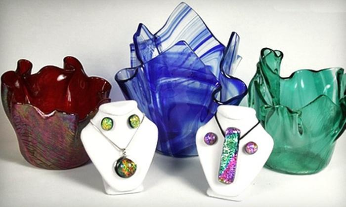 Designs by Sylvanye Glass Studio - Smyrna: $20 Toward Private Art Workshops