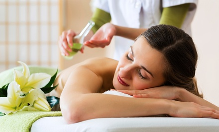 60- or 90-Minute Massage with Aromatherapy and Eye Treatment (Up to 62% Off)