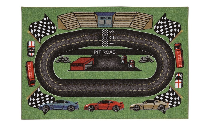 Mohawk Home Interactive 3 X5 Race Track Rug